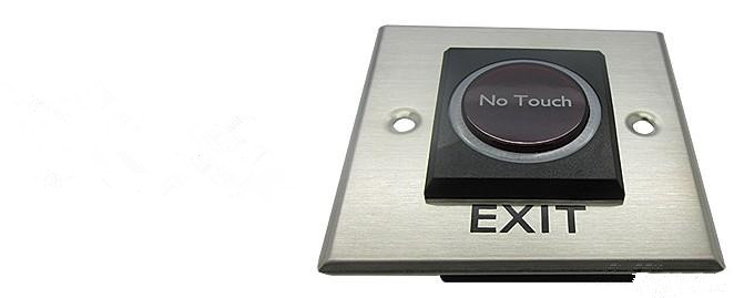 Infrared Sensor Door Release No Touch Exit Button With Led Indication